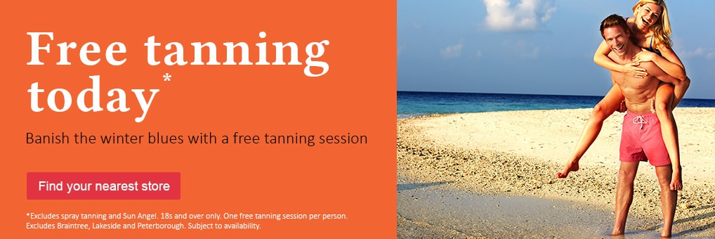 National Tanning Week begins today at The Tanning Shop!