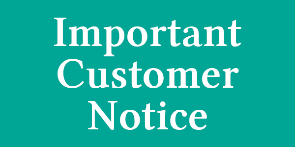 Important Notice – The Tanning Shop Palmer Street