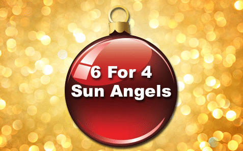 21st – 22nd December6 for 4 Sun Angels