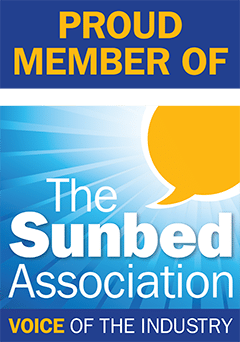 The Tanning Shop Are Proud Members Of The Sunbed Association