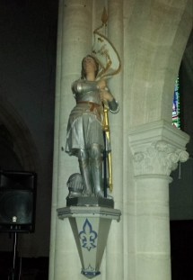 A tribute to Joan of Arc? Tick.