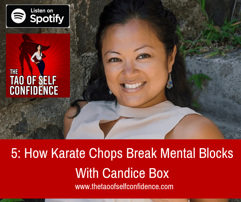 How Karate Chops Break Mental Blocks With Candice Box