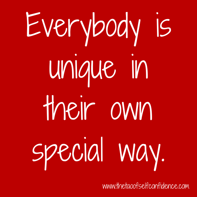 everybody-is-unique-in-their-own-special-way