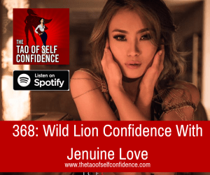 Wild Lion Confidence With Jenuine Love