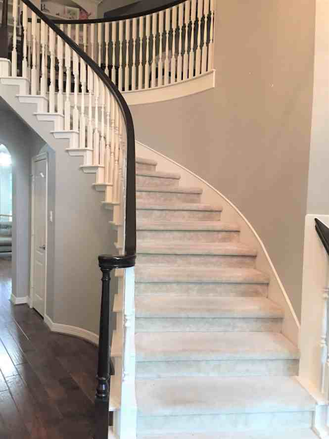 How to Stain Banisters Dark with Java Gel