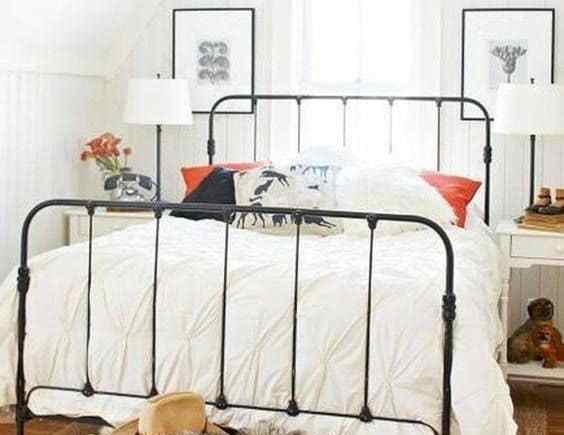 Modern Farmhouse Staple The Antique Black Bed
