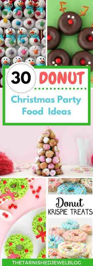 Christmas Party Planning.Let It Snow Donut Christmas Party Part 2 Food Planning