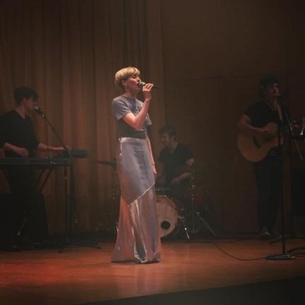 """Singing """"Je Veux"""""""