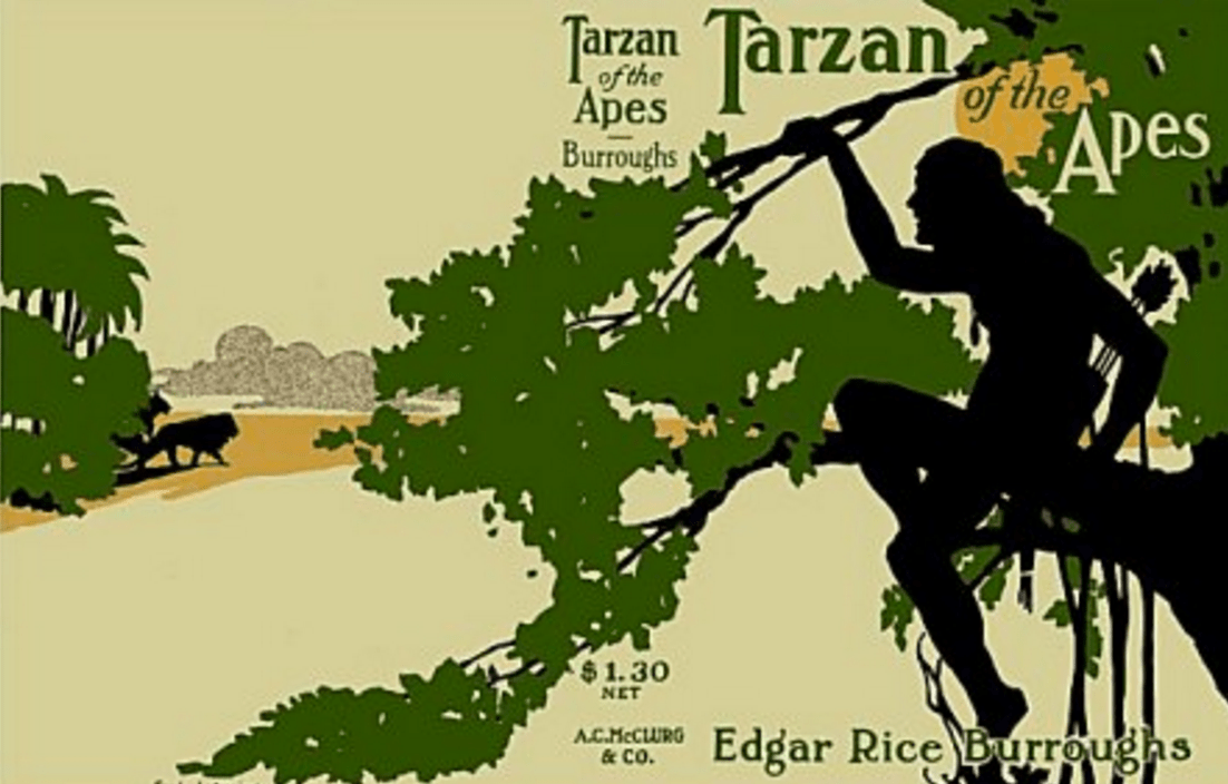 Tarzan of the Apes First Edition Dust Jacket