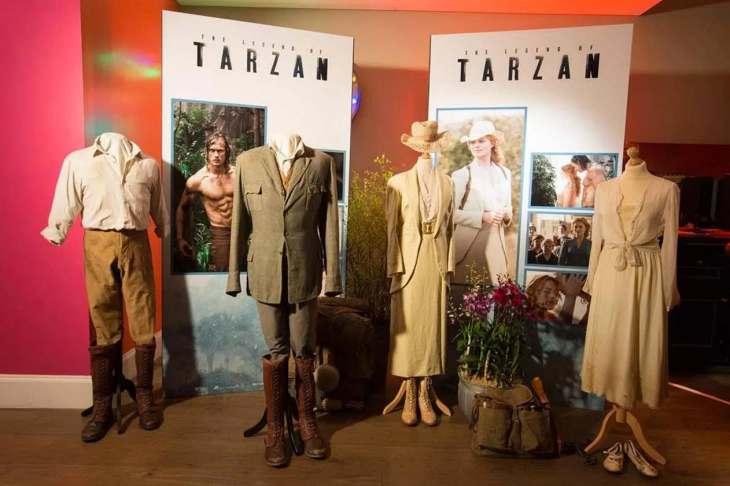 Tarzan Lobby Dislplay