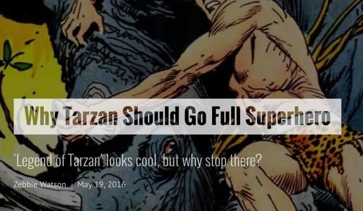 Tarzan Superhero