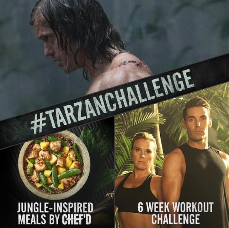 #TarzanChallenge