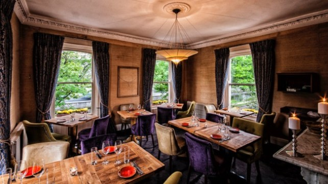 Win Dinner for Two with a Bottle of Wine at Locks Restaurant
