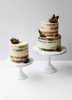 Naked Wedding Cake by Cove Cake Design