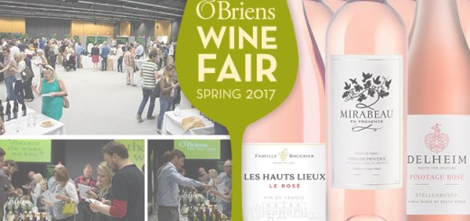 Win 12 Bottles of Rose and Tickets to the O'Briens Wine Fair Dublin with O'Briens Wine