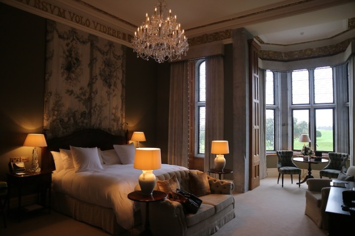 Adare Manor Limerick - Bedroom - Dunraven Suite - TheTaste.ie