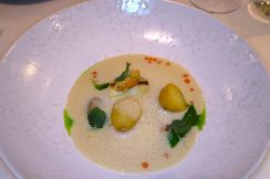Adare Manor Limerick - Veloute of leek - TheTaste.ie