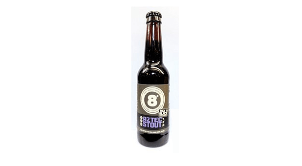 8 DEGREES BREEWING AZTEC STOUT 33CL - Craft Beer Review