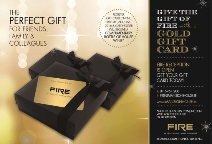 Fire Gold Card
