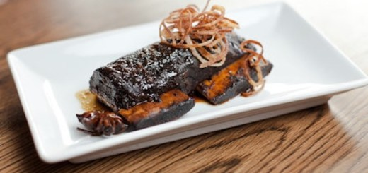 Javanese Short-rib of beef from Kevin O'Toole of Chameleon Restaurant