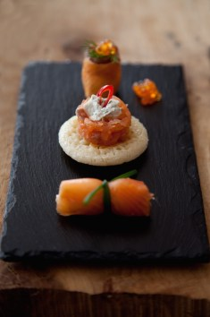 Smoked Salmon Blinis and Variations