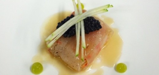 Poached Gambas Recipe by Conor Dempsey Head Chef @ Amuse Restaurant in Dublin 2