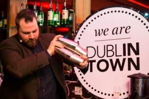 Aaron Wall from The Meeting House at the official launch of Dine in Dublin, returning 23rd Feb - 1st March. See dineindublin.ie for full details.