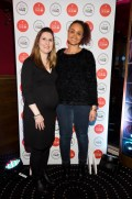 Laura Webb and Claudia Gocoul at the official launch of Dine in Dublin, returning 23rd Feb - 1st March. See dineindublin.ie for full details.