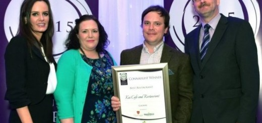 Winners from the Connaught Restaurant Awards 2015