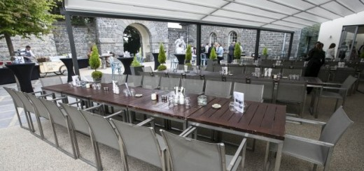 Launch of Carton House Hotel's new Al Fresco Dining Area