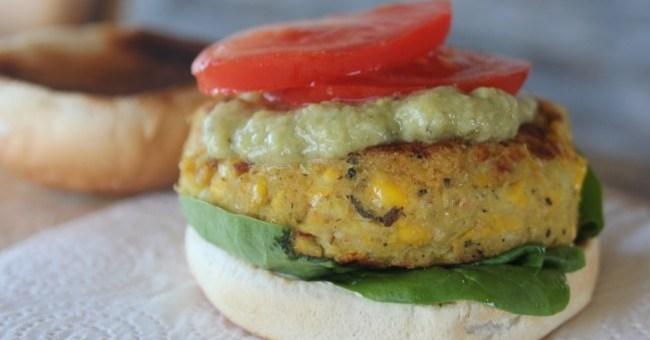 Carmel Hall Chickpea Burger