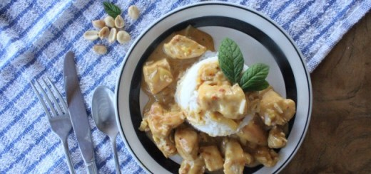 Carmel Hall Peanut Butter Curry