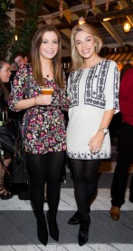 Jessica Walsh with Pippa O'Connor