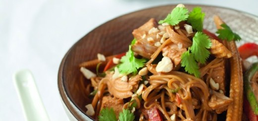 Neven Maguire Turkey Satay Vegetable Noodles