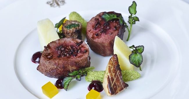 An Alternative Venison Dinner Recipe by Chef Phillipe Farineau of Ashford Castle