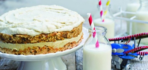 Susan Jane White rawvolutionary carrot cake
