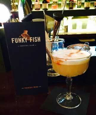 The Funky Fish Cocktail Bar Whiskey Sour