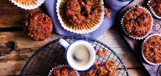 Oliver McCabe full-on fig, cranberry and oat bran muffins image 1