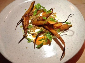 Carrots, Soft Cheese