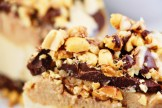 Raw Snickers Cheesecake The Goodfood Goddess