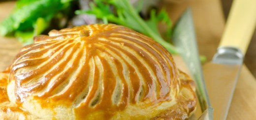 Clement Pavie Vegetable & Goat's Cheese Pithivier