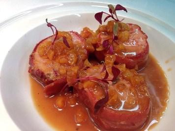 Pork Fillet, Apricots