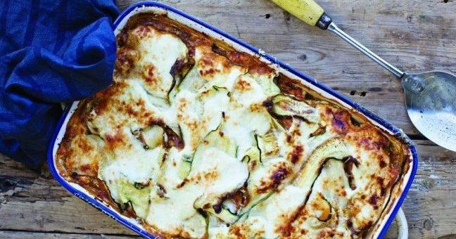 Roz Purcell turkey lasagne