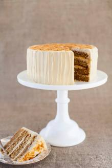 Salted Caramel Cake by The Cloudberry Bakery