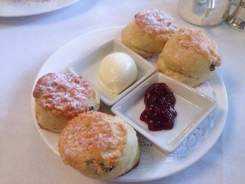Scone with Preserve & Clotted Cream