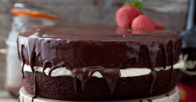 Rich Chocolate Cake Andrew Rudd
