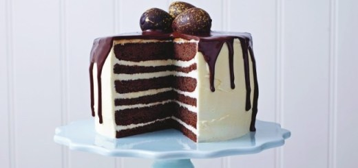 Marks and Spencer Chocolate and Vanilla Drizzled Cake