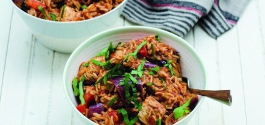 Jambalaya Chicken, Enjoy! Cookbook, Sheila Kiely