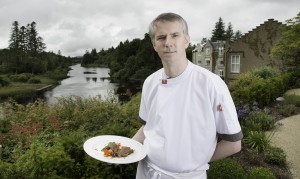 Chef Ultan Cooke – Ballynahinch Castle. Pic: Michael Mc Laughlin