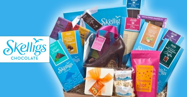 skelligs chocolate hamper